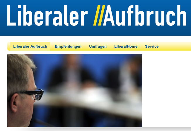 Liberaler Aufbruch - Jetzt!