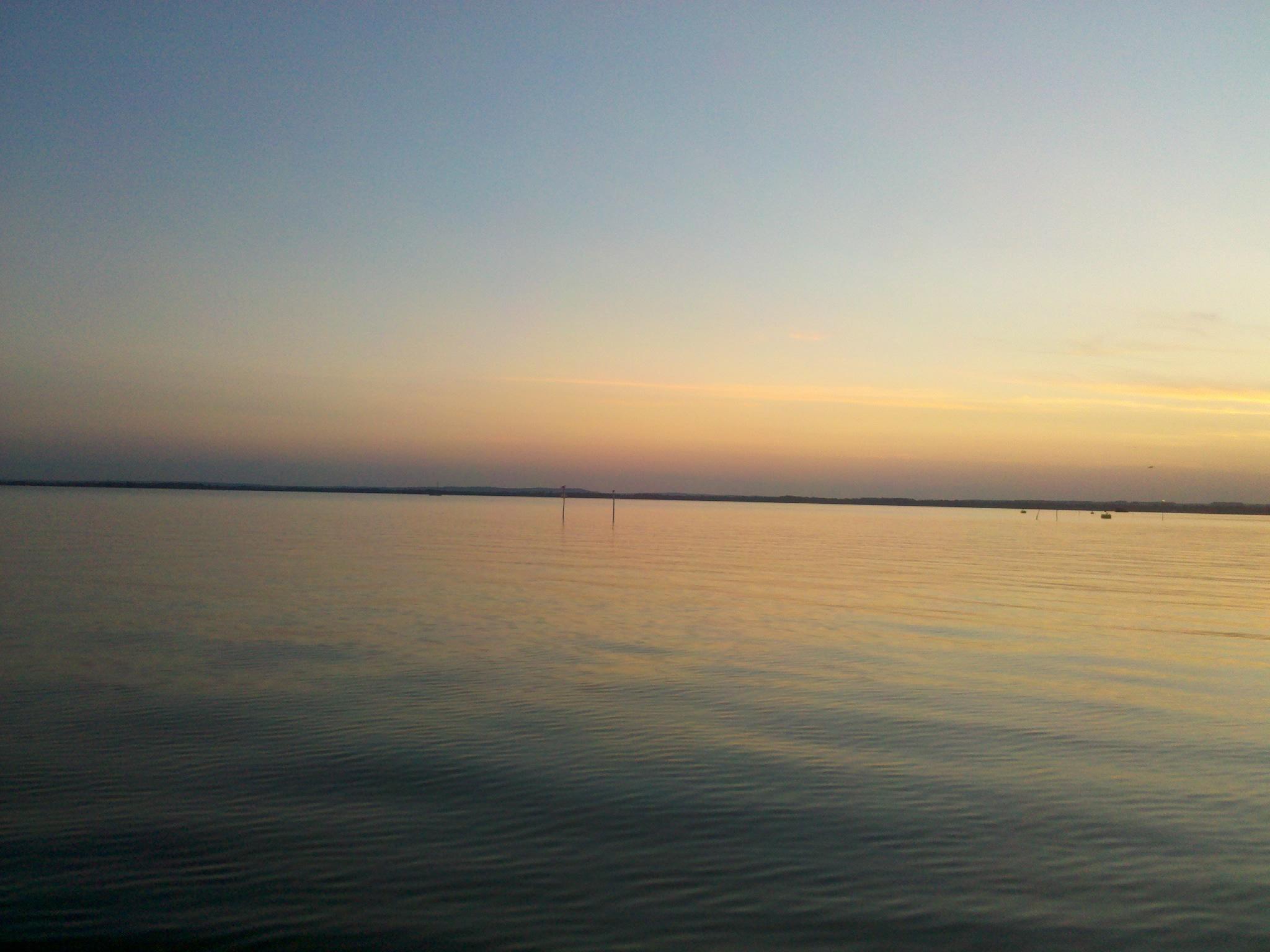 Sonnenaufgang am Balaton
