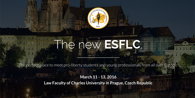 2016 European Students For Liberty Conference – 11.03.-13.03.2016, Karls-Universität, Prag